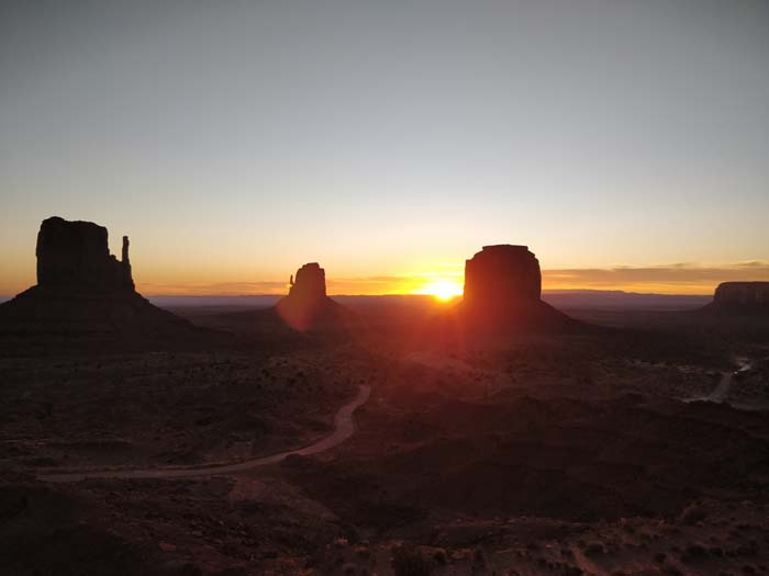 Sunrise at the Buttes #6