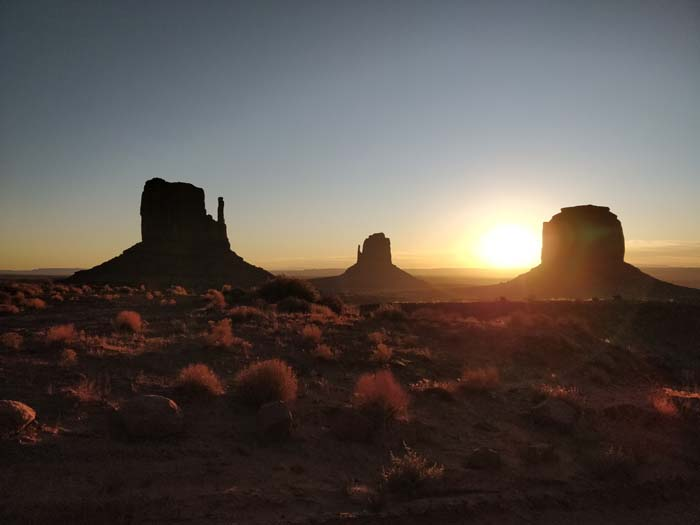 Sunrise at the Buttes #9