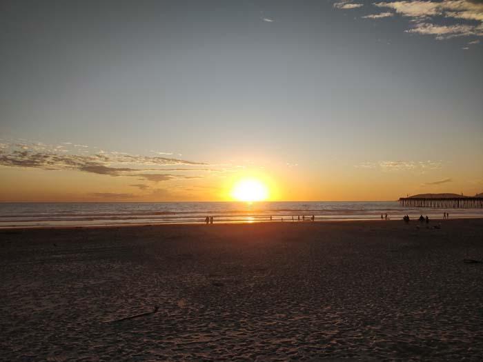 Sunset at Pismo Beach #1