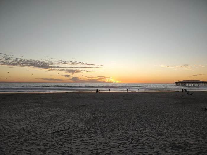 Sunset at Pismo Beach #6