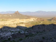 View from the Oatman Highway back east
