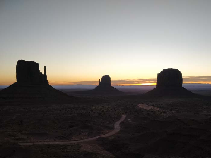 Sunrise at the Buttes #1