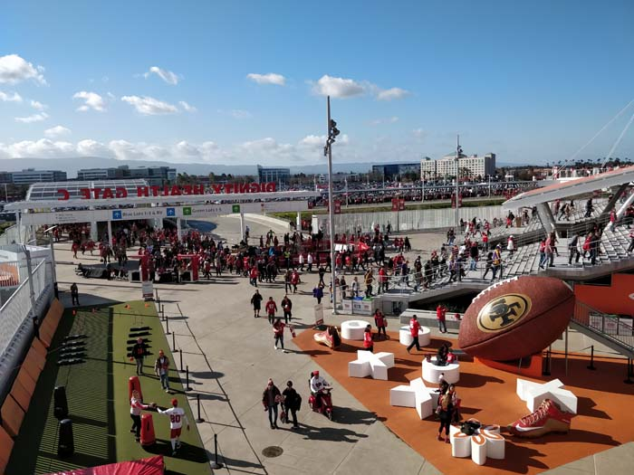 49ers Divisional Playoff 2020 Gate C