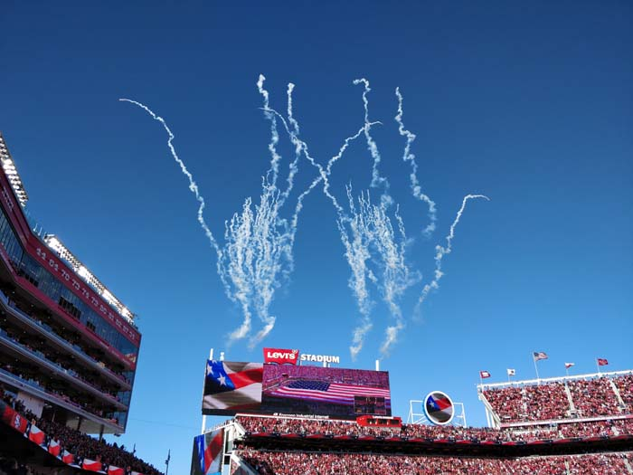 49ers Divisional Playoff 2020 National Anthem #2