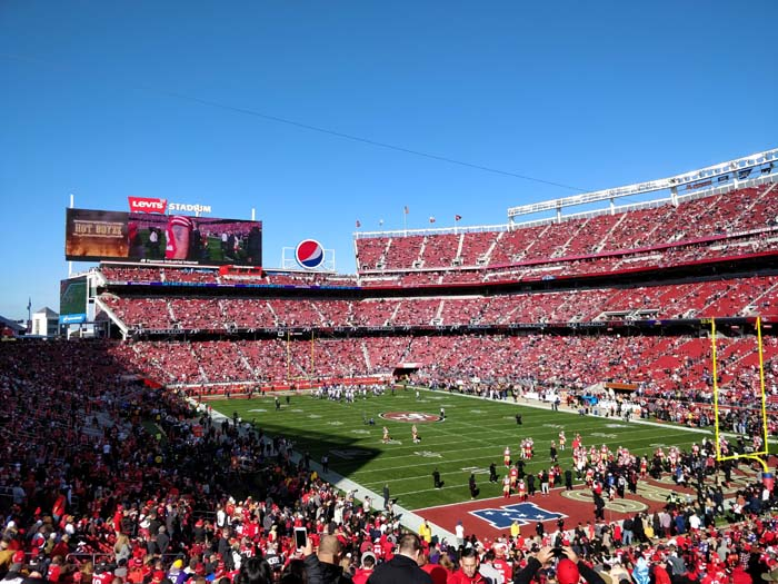 49ers Divisional Playoff 2020 - Warmup