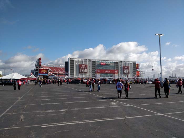 49ers Divisional Playoff Tailgate 2020 #1