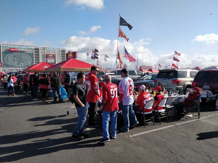 49ers Divisional Playoff Tailgate 2020 #12