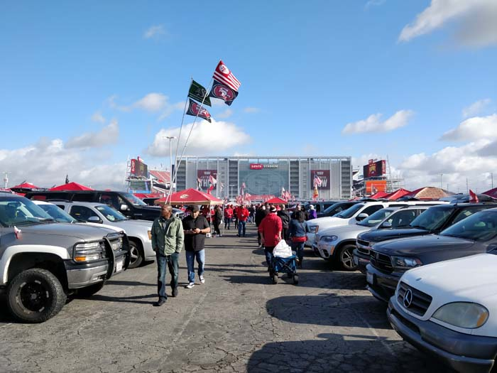 49ers Divisional Playoff Tailgate 2020 #3