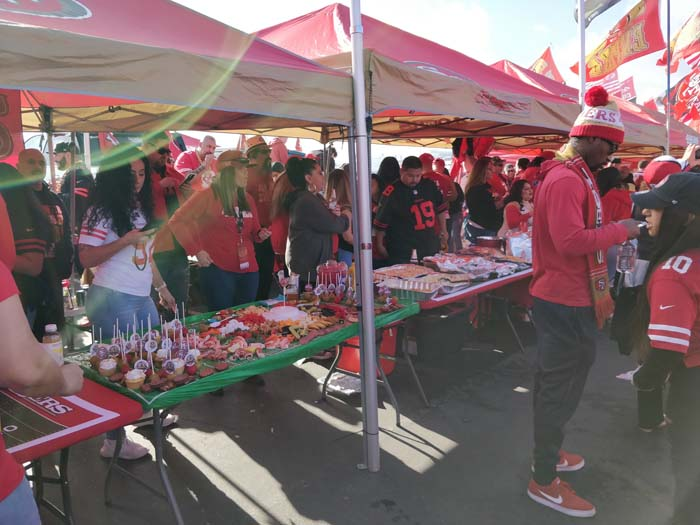 49ers Divisional Playoff Tailgate 2020 #4