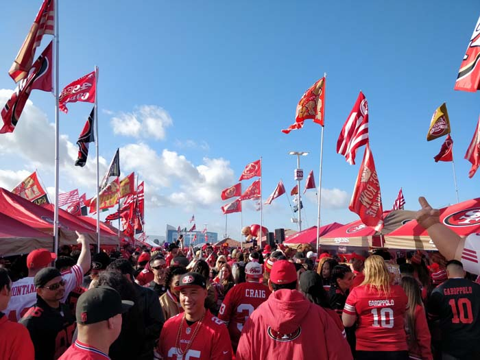 49ers Divisional Playoff Tailgate 2020 #5