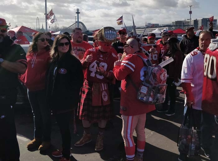 49ers Divisional Playoff Tailgate 2020 #6