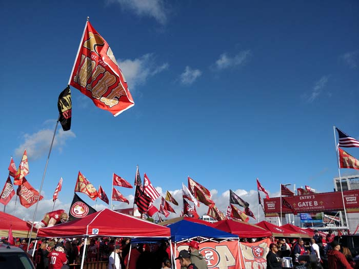 49ers Divisional Playoff Tailgate 2020 #7