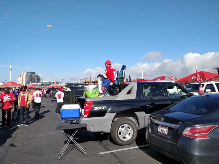 49ers Divisional Playoff Tailgate 2020 #8