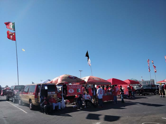 49ers Tailgate 2019 #5