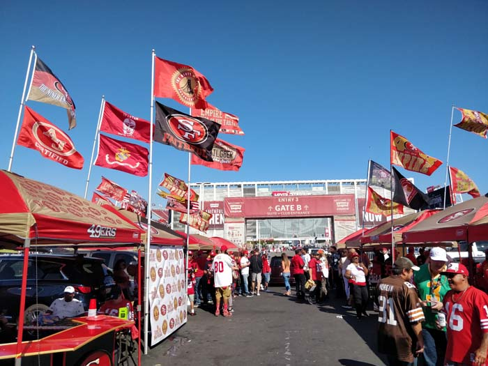 49ers Tailgate 2019 #6