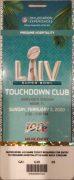 Super Bowl LIV Touchdown Club